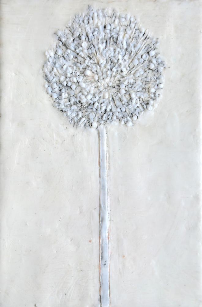 Lost in translation 8, Paraffin und Öl auf Nessel, 30 x 20 cm, 2016