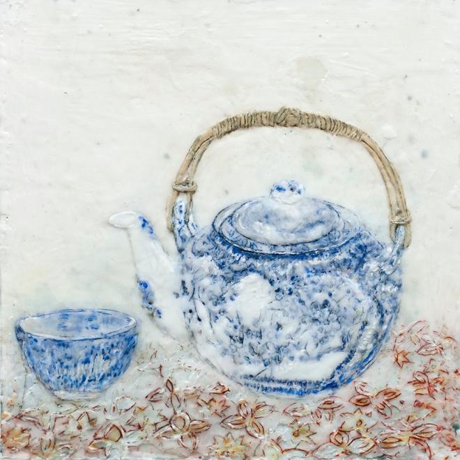 Stilleben Teekanne 1