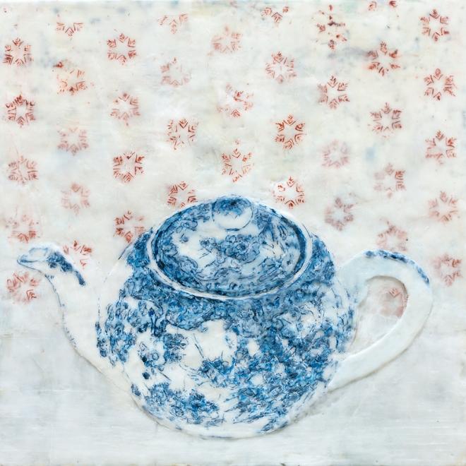 Stilleben Teekanne 2